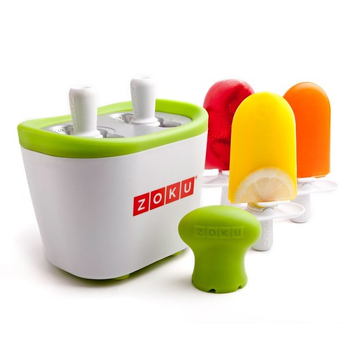 新鲜好玩实用:Zoku Duo Quick Pop Maker 快速雪糕制作机,7分钟就可以享用啦