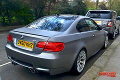 BMW M3 (Fast Car Zone) Tags: auto london car matt performance vinyl wrap german bmw m3 fastcar aftersales mattegrey
