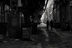 Incognito (benchorizo) Tags: wickerpark chicago blackwhite candid streetphotography silhouettes neighborhoods alleys chicagoist banias benchorizo