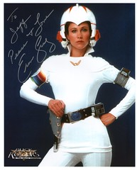 Autographed photo of Erin Gray as Wilma Deering (FranMoff) Tags: photo signature autograph buckrogers signed eringray wilmadeering