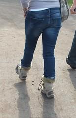 DSCF1744 (Lizzylovesboots) Tags: sexy female shoes highheels boots candid jeans mature heels denim heel milf ugg