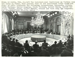 1969-1973 Vietnam War Peace Talks & Conferences