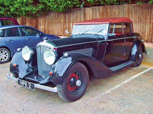 54 Bentley 4:25 litre Tourer (1939)