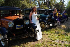 Models and Model As (KerriNikolePhotography) Tags: wedding ford car modela vintage bride nikon marriage bridesmaid santaynez maidofhonor countrywedding nikond3000 kerrinikolephotography