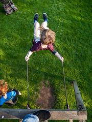 365.138 - Swinging Down (Tim Stubbs) Tags: garden arthur olympus swing 365 e30 day138 2013 365138 week20theme week21theme olympus1260f284edswd 19may13