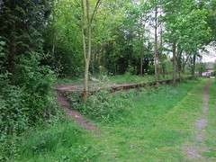 Yeldham Station Colne Valley And Halstead Railway 19th May 2013 (Cooperail) Tags: train suffolk br norfolk railway line east locomotive eur essex cambridgeshire ecr anglia ger lner dmu 2013