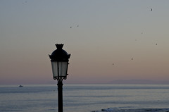 Spanish sunset (Lourens 1) Tags: ocean sunset summer sun lamp see spain nikon tranquil marbella d7000
