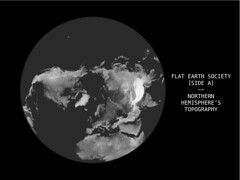 Flat Earth Society (n1c0la5ma1gr3t) Tags: world globe earth surface nasa relief data elevation srtm listen topography transposition gtopo30