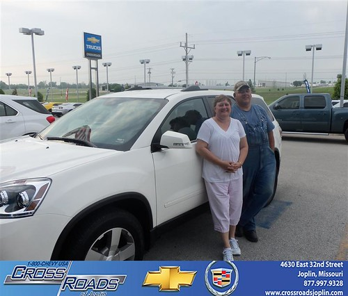Crossroads Chevrolet Cadillac Joplin Missouri Customer Reviews and Testimonials - Larry Carlin