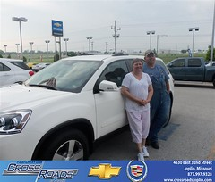 Crossroads Chevrolet Cadillac Joplin Missouri Customer Reviews and Testimonials - Larry Carlin (Crossroads Chevrolet Cadillac) Tags: new chevrolet car sedan truck wagon happy pickup cadillac mo used vehicles chevy missouri bday van minivan suv crossroads luxury coupe dealership caddy joplin shoutouts hatchback dealer customers 4dr 2dr preowned