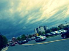 rain soon. (Door_een) Tags: blue sky cars beautiful scenery pretty skies gorgeous roads ars omg edit amazinf lovesit whiteclouds sce