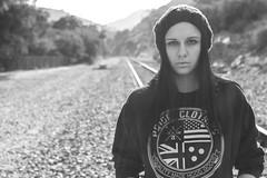 Brittney 14 B&W (T. Williams Photography) Tags: portrait fashion clothing indie