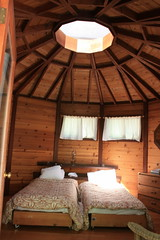 Yurt at Tassajara