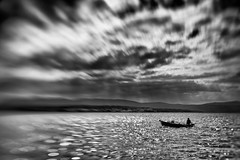 Set out (Al Fed) Tags: man lensbaby self boat alone croatia content your strong own confident curdled creamme malinska 20130529 httpwwwflickrcomgroupscreammediscuss72157633956219482comment72157633975397240