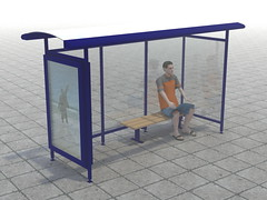 Bus stop Visualization (Gintaras D) Tags: bus stop visualization gintaras dovidauskas