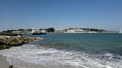 Sandbanks & Poole Harbour (PD3.) Tags: uk sea summer england sun ice ferry bay sand harbour cream shell chain dorset bathe bournemouth sandbanks poole studland sunbathe