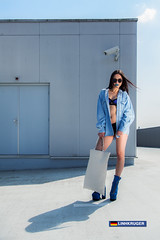 (LINHKRUGER) Tags: blue fashion female model kruger linh romyegzona