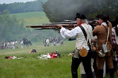 Revolution_159 (Sharp Perspective Photography) Tags: history colonial british reenactment colony musket firelock