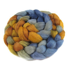 Farnsworth - Romney (Into The Whirled) Tags: wool silk merino spinning fiber bfl itw masham intothewhirled