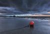 the buoy (Thunderbolt_TW) Tags: sunset sea sky sun reflection water windmill canon landscape taiwan 夕陽 台灣 日落 風景 windturbine 彰化 changhua 風車 彰濱 西濱 肉粽角 彰濱工業區 風景攝影 hsienhsi 線西 5d2 changpingindustryarea