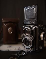7547 ~ my Rolleiflex... [Explore] (Teresa Teixeira) Tags: rolleiflex cultobject teresateixeira