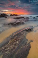 Time Lock (Syafiqjay) Tags: seascape rain landscape ngc monsoon malaysia heavy landscpae terengganu thuderstorm pantaitimur tanjungjara asiamonsoon