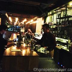 "Konstantin mixes our #cocktails at Killjoy - ""Canada's gin bar!"" ... #BonvivantEatsYVR (hanspetermeyer.com) Tags: cocktails uploaded:by=flickrmobile flickriosapp:filter=nofilter bonvivanteatsyvr bonvivanteats"