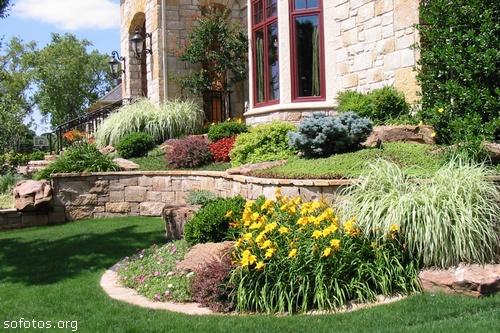 Jardinagem e paisagismo com fotos