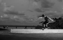 Sam Consuegra - Hurricane (Manny Valdes) Tags: white black blurry slow sam skateboarding ghost sunny shutter isles consuegra