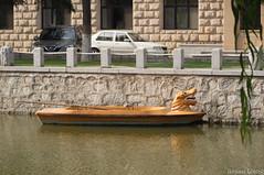 (liangjinjian) Tags: china summer geotagged boat sony beijing alpha chn a55 yanshan 2013  geo:lat=3972956833 geo:lon=11595550667