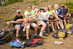 the whole gang (arbusch) Tags: youth wren explorers 2013 wallowaresources