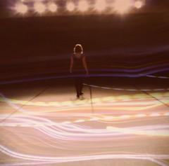 studio (inaminorchord) Tags: portrait selfportrait girl self studio lights back personal overlay layer 2009 dancestudio