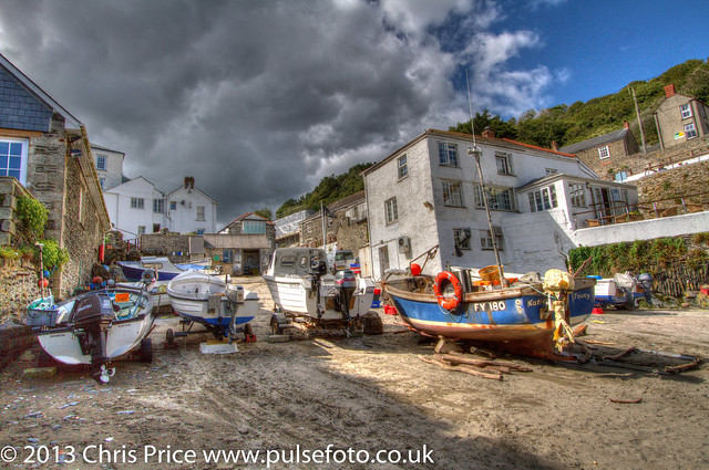 Portloe, Cornwall and the Lugger Hotel