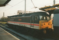 "Intercity Swallow Liveried Class 47/8, 47840 ""North Star"" (37190 ""Dalzell"") Tags: spoon preston swallow duff intercity northstar class47 47840 brush4 class478"