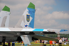 "Sukhoi Su-27 (10) • <a style=""font-size:0.8em;"" href=""http://www.flickr.com/photos/81723459@N04/9962632966/"" target=""_blank"">View on Flickr</a>"