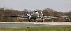 PH-PBA KLM ROYAL DUTCH AIRLINES DAKOTA DC-3C (Roger Lockwood) Tags: klm dc3 dakota leedsbradfordairport lba prinsesamalia egnm phpba
