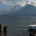 Vulcão Atitlán e Tolimán