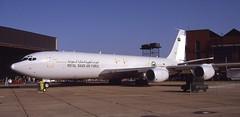 1815. Royal Saudi Air Force Boeing KE-3A (Ayronautica) Tags: aviation military may 1993 airshow boeing tanker 1815 mildenhall egun royalsaudiairforce ke3a mildenhallairfete boeingke3a ayronautica