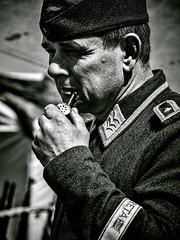 German_Soldier (L2L Shadowcatcher) Tags: portrait war pipesmoker germansoldier blythbattery