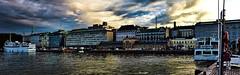 Helsinki (Miradortigre) Tags: city trip travel sunset skyline port suomi finland puerto atardecer evening helsinki ciudad urbano finnish cita finlandia urbain cite marianomantel