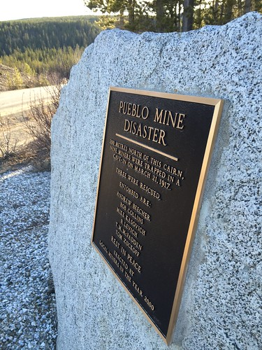Pueblo Mine memorial