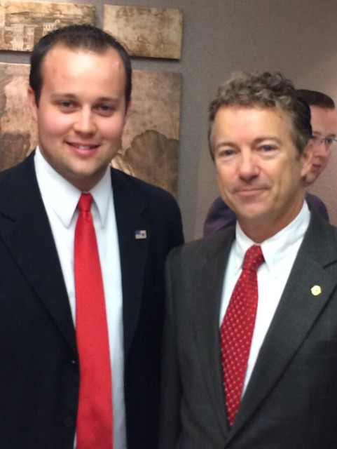 Josh Duggar Stands with Rand