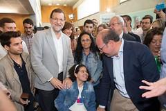 Rajoy junto a Pedro Antonio Snchez en un acto en Murcia (Partido Popular) Tags: murcia rajoy pp marianorajoy partidopopular eleccioneslocalesyautonmicas2015
