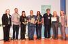 (left) Pat Matos, DNP, RN, NEA-BC; Corbin Bosse, BSN, RN; Sunnie Dishman, BSN, RN; Robert Chavarria, LPT; Era Hawk, LVN; Shai Behmanesh, BSN, RN; Susan Rappaport, MSN, RN, PMHCNS, NE-BC; Heidi Crooks, R.N., M.A.