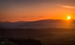 Auchincarroch Muir (GenerationX) Tags: sunset sun mountains alexandria landscape evening scotland haze unitedkingdom dusk scottish neil hills clear fields layers trossachs balloch lochlomond barr lastlight kilpatrick auchineden whangie luss duncryne queensview
