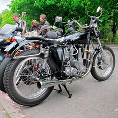BSA Bseries (Joneau) Tags: classic motorbike moto motorcycle bsa matlockbath