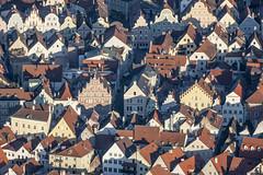 Old Town Houses, Landshut (Aerial Photography) Tags: by la aerial altstadt oldtown deu historiccity luftbild neustadt landshut luftaufnahme bayernbavaria deutschlandgermany ndb rosengasse 7538060 ländgasse fotoklausleidorfwwwleidorfde 20032014 1ds82784