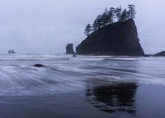 Soft Reflections (sunrisesoup) Tags: secondbeach wa usa quileute ocean sunrisesoup