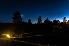 Various lights (Markus Nissa) Tags: night sky ciel nuit lumire d700 pose longue toiles stars landscape paysage