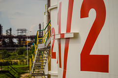 2 & 1/2 (algimantas_tirlikas) Tags: buiding construction energy factory industry outdoor rafinery
